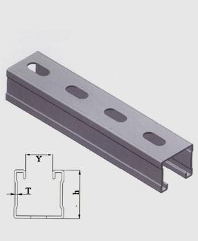 抗震单面C型槽钢