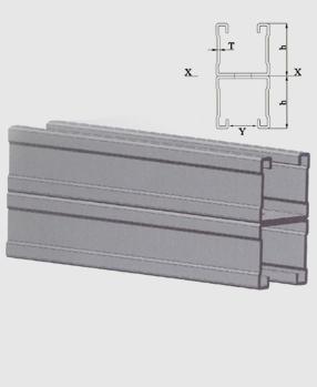 抗震双拼槽钢
